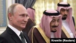 Rusiya prezidenti Vladimir Putin və Səudiyyə kralı Salman