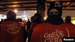 Забастовка в Португалии