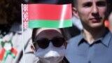 Участники парада Победы в Минске. 9 мая 2020 года