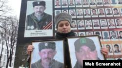 Тетяна Дрьомова, вдова бойовика угруповання «ЛНР» Павла Дрьомова