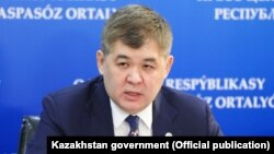 Министр здравоохранения Казахстана Елжан Биртанов.