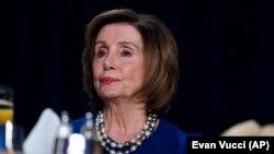 Kryetarja e Dhomës së Përfaqësuesve në SHBA, Nancy Pelosi.