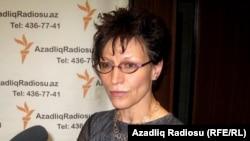 Исполнительный директор ARTICLE 19 Аньес Каламар, Баку, 09 сентября 2010