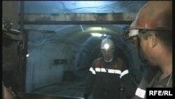 Шахтеры в одной из шахт в Карагандинской области.