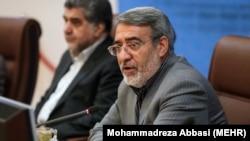 Iranian interior minister Abdolreza Rahmani Fazli, December 31, 2017.