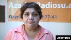 Қамоқда қолаётган журналист Хадижа Исмоилова.
