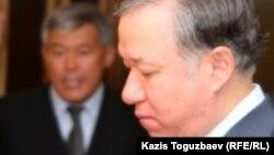 """Нурлан Нигматулин, первый заместитель председателя президентской партии """"Нур Отан"""". Алматы, 12 сентября 2010 года."""
