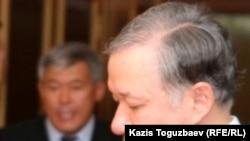 «Нұр Отан» партиясы төрағасының бірінші орынбасары Нұрлан Нығматуллин. Алматы, 12 қыркүйек 2010 жыл.