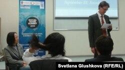 Форум социального добра в Астане. 22 сентября 2014 года.