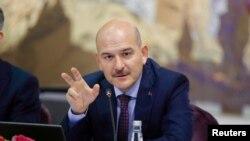 Турција- министерот за внатрешни работи Сулејман Сојлу