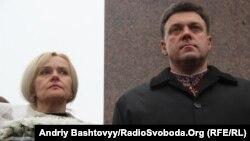 Мрина Фарион и Олег Тягнибок