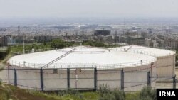 Shahran oil depot in Tehran. File photo