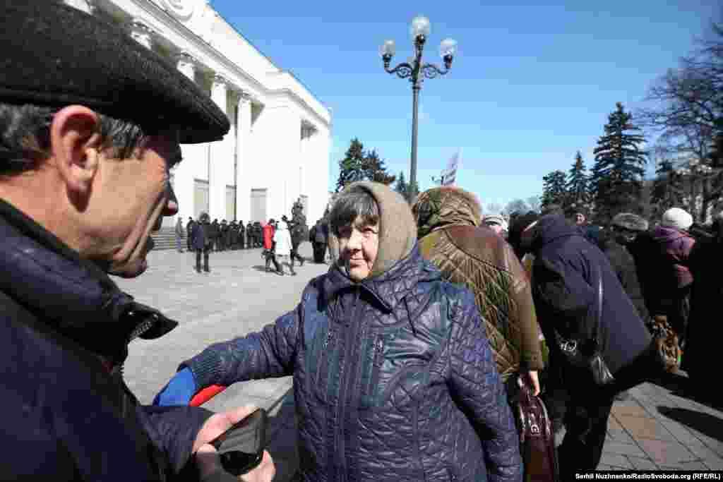 Мама Надії Савченко Марія
