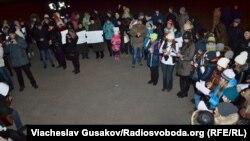 У Херсоні вшанували пам'ять Кузьми Скрябіна, 11 лютого 2015 року