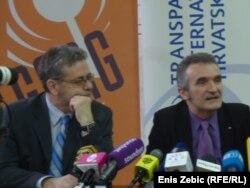 Nikola Kristić i Zorislav Antun Petrović, Zagreb, 11. siječnja 2012.