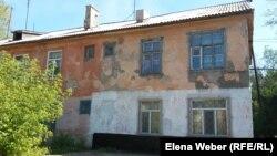 Дом в старой части города Темиртау. 15 августа 2015 года.