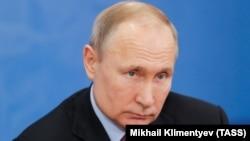 Владимир Путин в Череповце