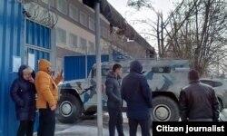 Марказдаги ғалаён бостиришга полиция ва ОМОН гуруҳлари ташланди