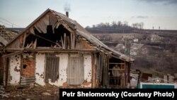 Satul Stepanovka din apropiere de Doneţk, Ucraina