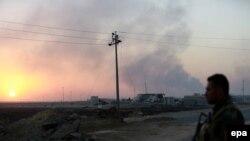 ارشیف، د عراق د شمال په کُردستان کې یو امنيتي سرتېری