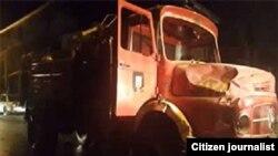 روایت شاهد عینی از تصادف ماشین آتشنشانی در دورود