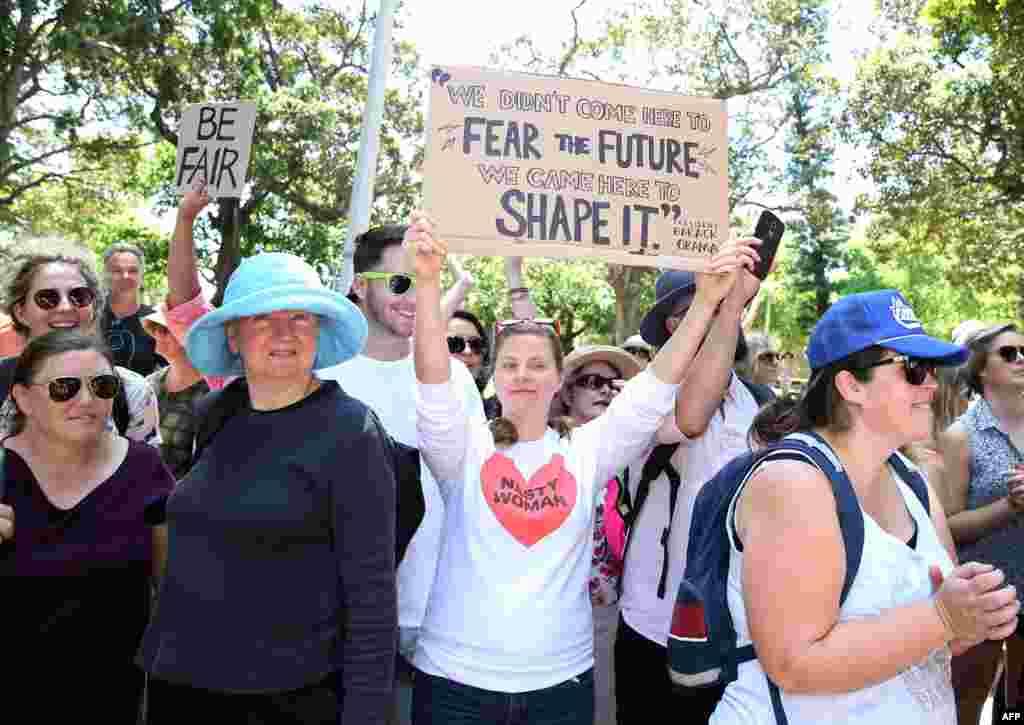 Марш женщин в Сиднее, Австралия