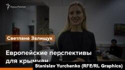 Европейские перспективы для крымчан. Светлана Залищук