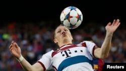 Bastian Schweinsteiger în acțiune