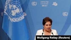 Патриция Эспиноза - исполнительный директор Конвенции ООН по изменению климата в Бонне