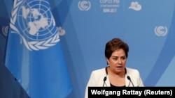 Патриция Эспиноза - исполнительный директор Конвенции ООН по изменению климата в Бонне.