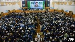 شماری از طرفداران حزب اسلامی در هرات