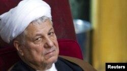 اکبر هاشمی رفسنجانی، رییس مجمع تشخیص مصلحت نظام.