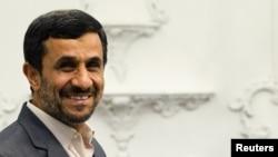 Iran President Mahmud Ahmadinejad