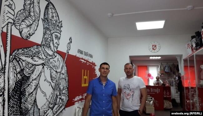Сяргей Байко і Алег Чапараў