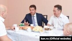 Ильсур Метшин — частый гость на коммерческих объектах Эмиля Хуснутдинова.