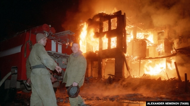 Чечня, Грозный. 31.12.1994