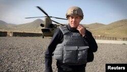 Премьер-министр Австралии Малкольм Тернбулл во время поездки в Афганистан