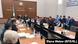 Заседание Совета по защите прав предпринимателей Карагандинской области. Караганда, 25 октября 2018 года.