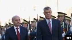 Isa Mustafa e Hashim Thaçi