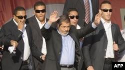 Новоизбраниот претседател на Египет Мохамед Морси.