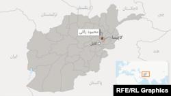 موقعیت کاپیسا در نقشه افغانستان