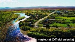 Село Ковран на Камчатке. Архивное фото.