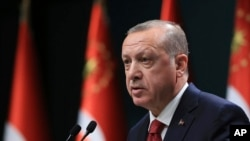 Presidenti i Turqisë,Recep Tayyip Erdogan.