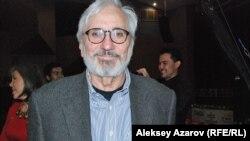Член жюри кинофестиваля Октай Миркасим. Алматы, 22 октября 2014 года.