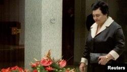 Jovanka Broz u Kući cveća - fotografija iz arhive