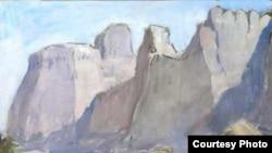 Виктор Иванович Уфимцев. «Погонщик верблюда». 1930-е годы. Холст, масло