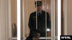 В. Юзэпчук на судовым працэсе