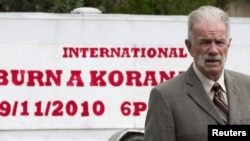 Florida Pastor Terry Jones's plan to burn copies of the Koran had been criticized by political and religious leaders from around the world.