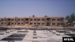 The site of a primary school being constructed in Iraq earlier this summer