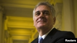 Presidenti i zgjedhur i Serbisë Tomisllav Nikolliq